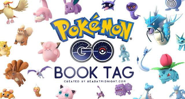 [Tag] Pokemon Go Book Tag