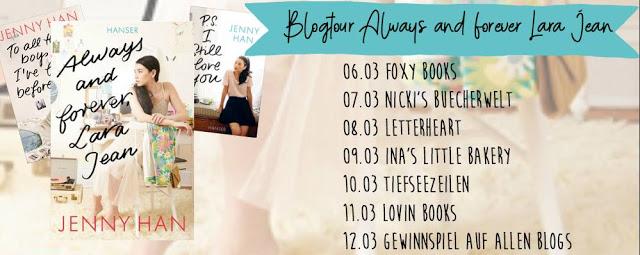 [Blogtour] Always and forever, Lara Jean | Gewinnspiel